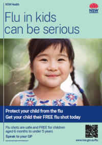 Don't spread flu poster