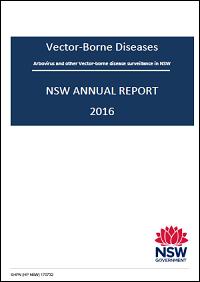NSW Vector-Borne Diseases Annual Report - 2016