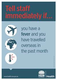 MERS -CoV travel poster