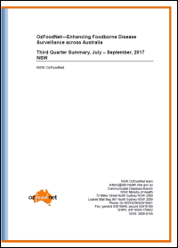 2017 NSW OzFoodNet quarterly reports