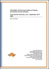 2017 NSW OzFoodNet quarterly reports