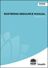Rostering Resource Manual