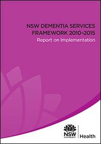Dementia Services Framework 2010-2015 - Report on Implementation