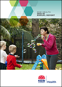 NSW Health Annual Report 2015-16