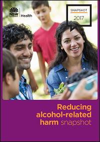 Reducing alcohol-related harm snapshot 2017