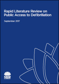 Rapid Literature Review on Public Access to Defibrillation