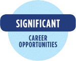 Significant career opportunities