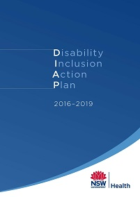 NSW Health Disability Inclusion Action Plan 2016-2019