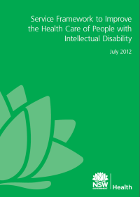 Service Framework to Improve the Health Care of People with Intellectual Disability