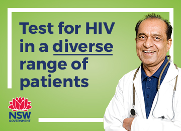 Test for HIV in a diverse range of patients