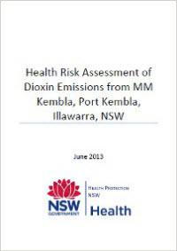 Health Risk Assessment of Dioxin Emissions from MM Kembla, Port Kembla, Illawarra NSW
