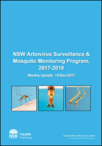 Surveillance and monitoring weekly reports season 2017-18