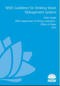 NSW guidelines fro drinking water