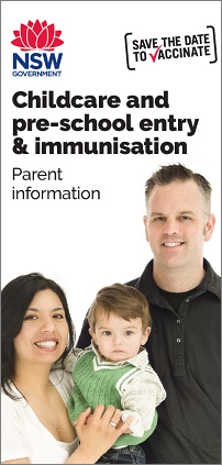 Childcare and pre-school entry and immunisation (brochure)