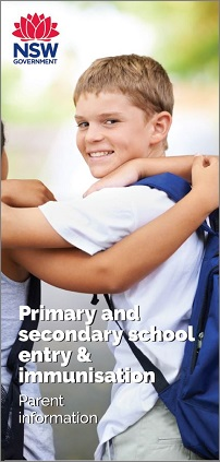School Immunisation Brochure
