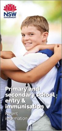 School Immunisation Brochure
