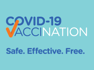 COVID-19 vaccination. Safe. Effective. Free.