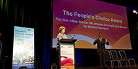 Peoples Choice Award - Jillian Skinner, Dr. Norman Swan