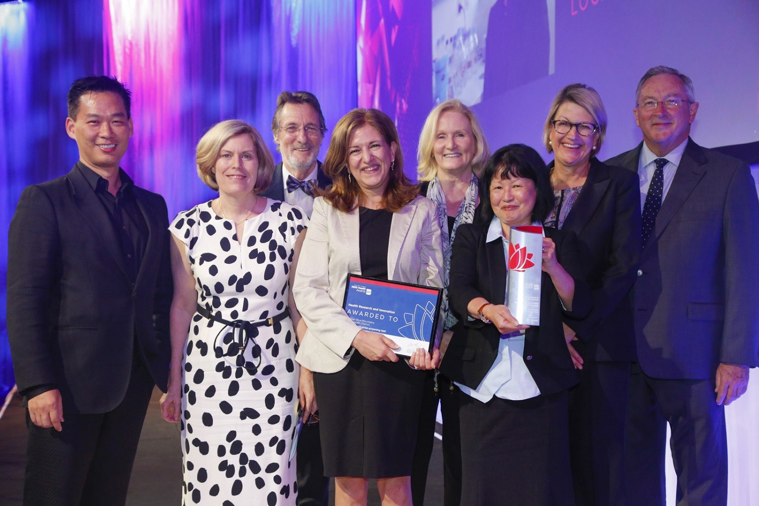 Winner for Health Research and Innovation​