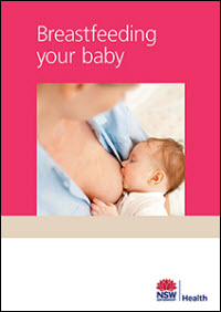 Breastfeeding your baby cover