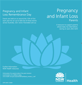 Cover of Pregnancy and infant loss - parents