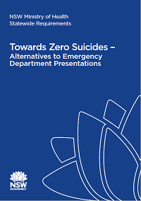 NSW Health Statewide Requirements – Alternatives to Emergency Department Presentations (A2ED)