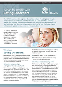 A Plan for People with Eating Disorders