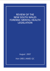 NSW Forensic Mental Health Legislation - Review