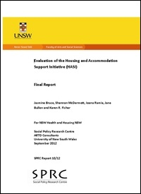 Evaluation of the Housing and Accommodation Support Initiative (HASI)