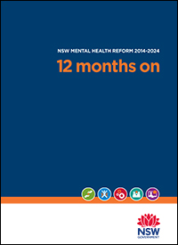 NSW Mental Health Reform 2014-2024 - 12 months on