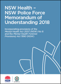 NSW Health – NSW Police Force Memorandum of Understanding 2018