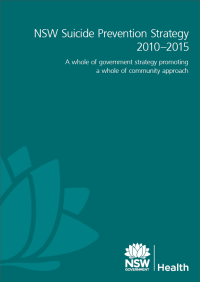 NSW Suicide Prevention Strategy 2010-2015