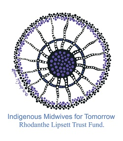 Indigenour Midwives For Tomorrow Rhodanthe Lipsett Trust Fund Logo