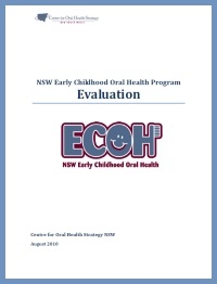 NSW Early Childhood Oral Health Program Evaluation