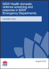 Domestic Violence Routine Screening in Emergency Departments: A Feasibility Study