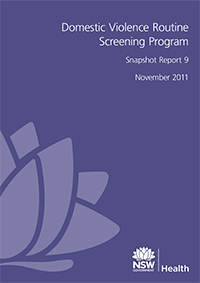 Domestic Violence Routine Screening Program