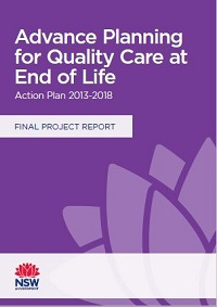 Final Report Advance Planning for Quality End of Life Care Action Plan 2013-2018