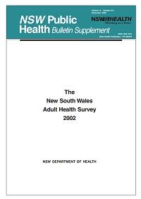 NSW Adult Health Survey 2002