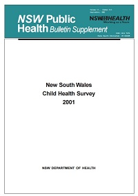 NSW Child Health Survey 2001