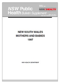 NSW Mothers and Babies 1997