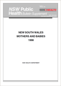 NSW Mothers and Babies 1998