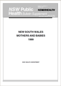 NSW Mothers and Babies 1999