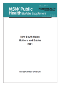 NSW Mothers and Babies 2001