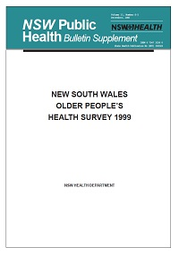 NSW Older People's Health Survey 1999