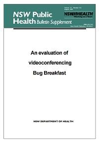 An Evaluation of Videoconferencing Bug Breakfast