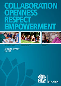 Annual Report 2012-2013 NSW Health