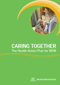 Caring Together: The Health Action Plan for NSW