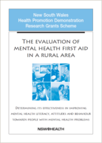 Mental Health First Aid Evaluation in a Rural Area