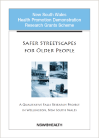Safer Streetscapes for Older People
