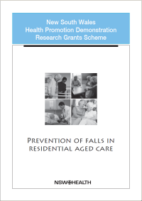 Falls prevention in residential aged care